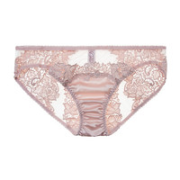 Blush Guipure Brief