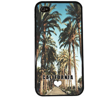 CALIFORNIA iPhone Case / Los Angeles iPhone 4 Case Cute iPhone 5 Case iPhone 4S Case iPhone 5S Case Palm Trees Summer Phone Case LA
