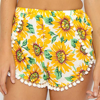 Summer Bliss Shorts - Floral