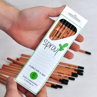 Sprout Pencil: Flower Pack
