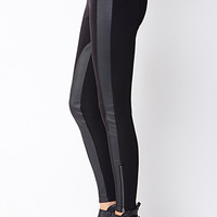 Biker Babe Faux Leather Leggings