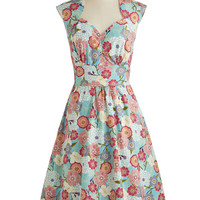 Room for Blooms Dress | Mod Retro Vintage Dresses | ModCloth.com