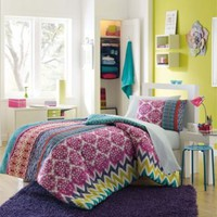 Riley Back to School 8-Piece Twin/Twin XL Dorm Kit in Multi