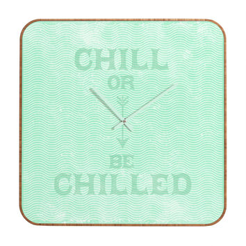 Nick Nelson Chill Or Be Chilled Custom Clock