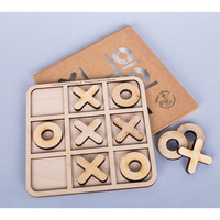 Tic Tac Toe Game, Wooden table game Tic Tac Toe, Wooden Game for Children