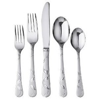 Cambridge Felicity 45-pc. Flatware Set - Service for 8 w/Bonus Serving Set