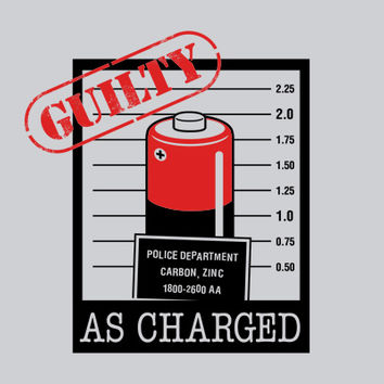 Guilty As Charged T-Shirt | SnorgTees