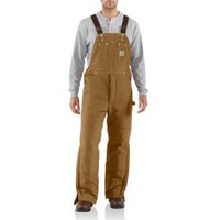 Carhartt® Men's Arctic Quilt Lined Duck Bib Overalls - Tractor Supply Co.