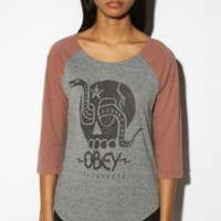 OBEY Metal Skull Tee