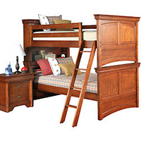 Oberon 7 Pc Cherry Bunk Bed