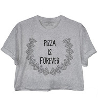 Pizza Crop Tee