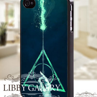 Harry potter deathly hallows - iPhone 4/4s/5 Case - Samsung Galaxy S2/S3/S4 Case - Blackberry Z10 Case - Ipod 4/5 Case - Black or White