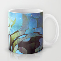 Blue Moon Mug by SensualPatterns