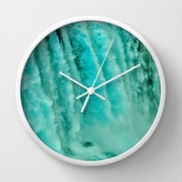 WATER POWER Wall Clock by catspaws
