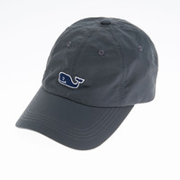 Vineyard Vines Charter Nylon Baseball Hat - Seal Blue