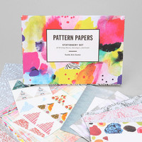 Pattern Paper Stationery Set - Urban Outfitters