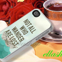 tolkien wander iphone for iPhone 4, iPhone 4s, iPhone 5, iPhone 5s, iPone 5c, samsung galaxy s3, galaxy s4 case
