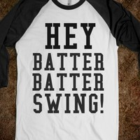 HEY BATTER BATTER SWING