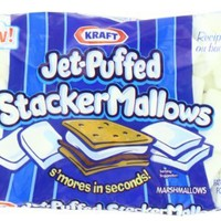 Jet Puffed Stacker Mallows, 8-Ounce (Pack of8)