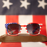 The Iconic Patriot Shades - American Flag Sunglasses