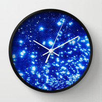NATURAL SPARKLE 2 Wall Clock by catspaws