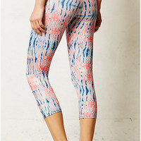 Floral Burst Crop Leggings