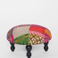Magical Thinking Patchwork Stool - Urban Outfitters