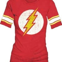 The Flash Hockey Stripe Babydoll T-shirt