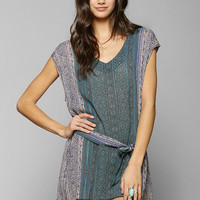 Somedays Lovin Blue Saloon Dress - Urban Outfitters