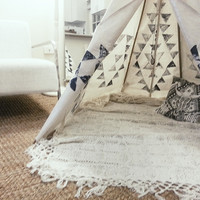 DIY Lounge-Teepee « Spell & the Gypsy Collective.