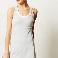 Pure + Good Racerback Tennis Dress Grey Motif M Dresses