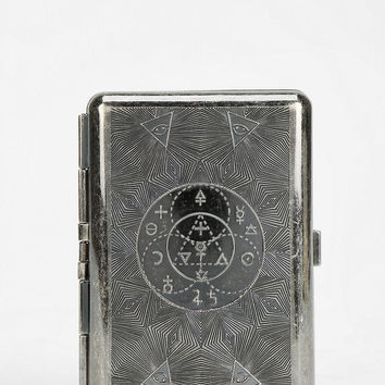 Medusa Tarot Metal Card Case Wallet - Urban Outfitters