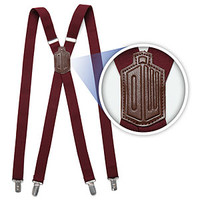 Doctor Who 11th Doctor's Red Suspenders