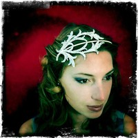 Antler Tiara by renewalrus on Etsy