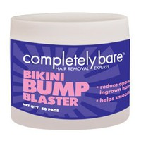 BIKINI BUMP BLASTER FOR INGROWN HAIRS (50 PADS) By COMPLETELY BARE