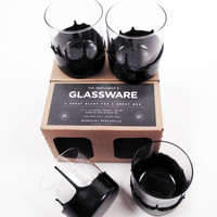 The Gentleman's Glassware - Wax Dipped Whiskey Glasses - Glassware