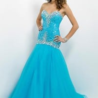 Blush 9712 at Prom Dress Shop
