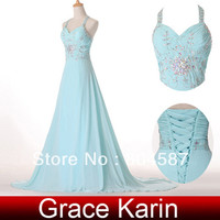Grace Karin Chiffon Crystal Beading Prom Evening Gown Dress CL4653, View bead dress, Gracekarin Product Details from Grace Karin Evening Dress Co. Limited (Suzhou) on Alibaba.com