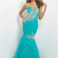 Blush 9745 at Prom Dress Shop