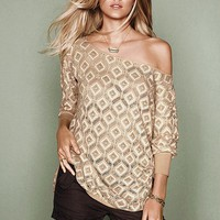 Victoria's Secret - Crochet Cover-up Tunic Sweater