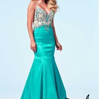 Cassandra Stone 76588A at Prom Dress Shop