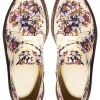 Dr Martens Core Lester Beige Wild Rose 3-Eye Shoes