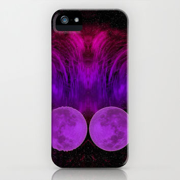 ONCE IN A PURPLE MOON iPhone & iPod Case by catspaws