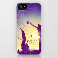 Live - for iphone iPhone & iPod Case by Simone Morana Cyla