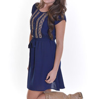 Closet Candy Boutique · Breakfast At Tiffany's Dress - Navy