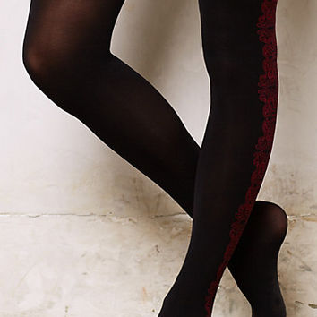 Arabesque Panel Tights
