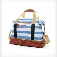 Midday Weekender Bag - Blue Sky Stripe