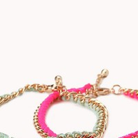 Bright Thing Woven Bracelet Set