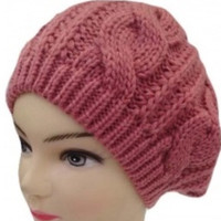 HUGE Quick SALE ends 7pm PST: Cable Knitted Beree Style Winter Hat
