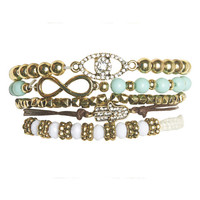 Urban Boho Friendship Bracelet Set | Wet Seal